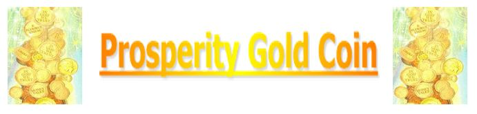 prosperity gold coin page banner