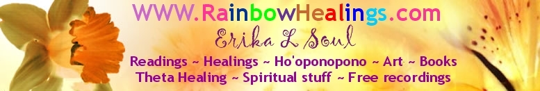 rainbow healings WP footer